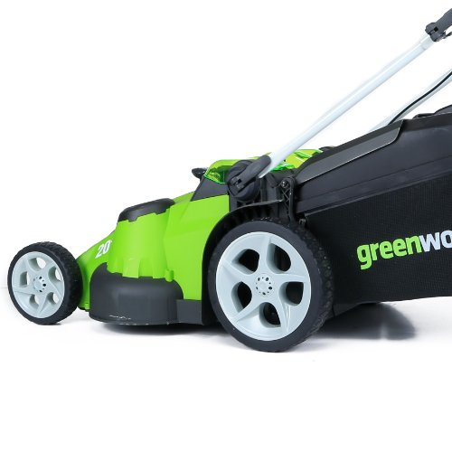 Greenworks 20-Inch 40V Twin Force Cordless Lawn Mower, 4.0 AH & 2.0 AH Batteries Included 25302 by Greenworks (Image #8)