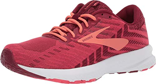 (Brooks Women's Launch 6 Rumba Red/Teaberry/Coral 11 B US)