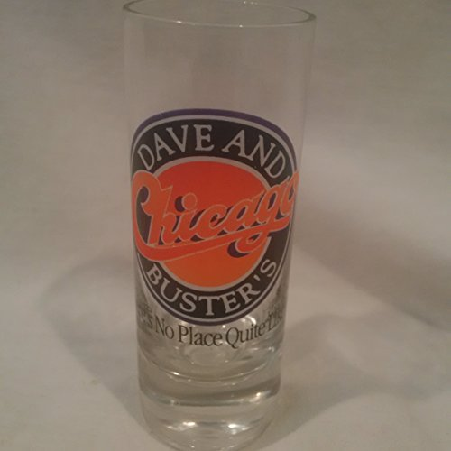 chicago-dave-and-busters-double-shot-glass-dave-and-busters-shot-glass-chicago-shot-glass