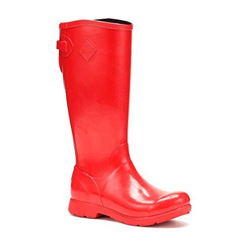 Bergen Wellies Womens Muck Boots Red Tall vqRw7zw