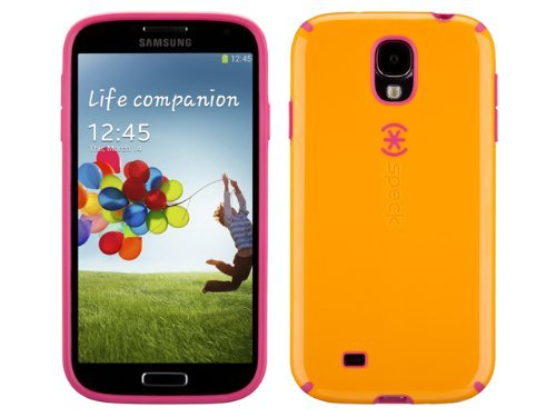 save off bcc2f fae71 Amazon.com: Speck Products CandyShell Samsung Galaxy S4 Case - Mango ...