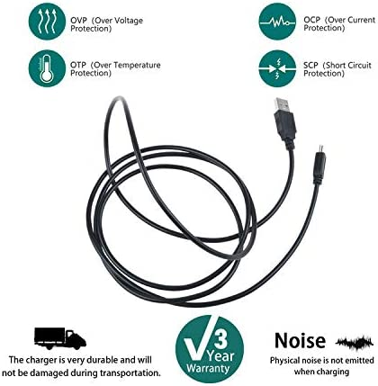 SLLEA USB Data PC Cable Cord Lead for 7 SOWILL OiOi S7 Android WiFi Tablet PC