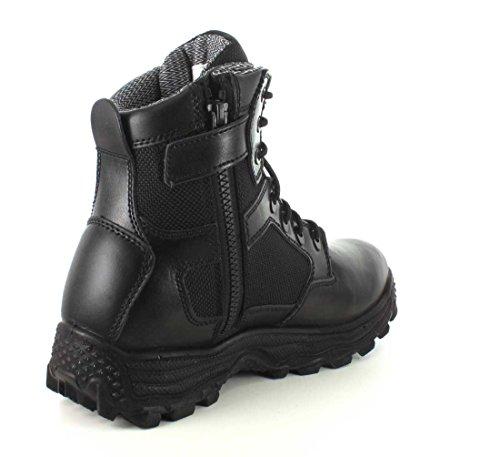 CONDOR Mens Garner Zip 6 Tactical Waterproof Leather, Nylon Fabric Boots Black