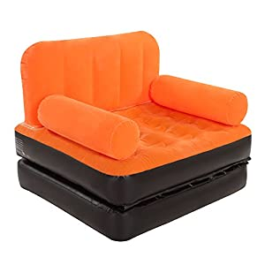 Giant Inflatable Chair And Lounger 2 In 1 Flocked