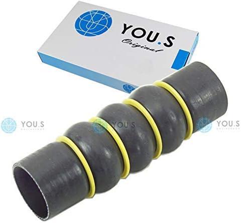 50//50 mm 1 x YOU.S Original Turbo-// Ladeluftschlauch 0382.NN Durchmesser ca