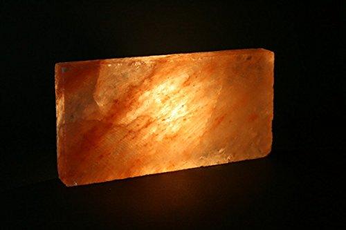 !St=3,99/€ 10x Salzbausteine Salzziegel 20x10x2,5cm zur Raumgestaltung