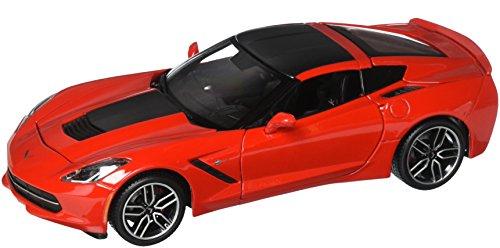 Maisto 2014 Chevrolet Corvette Stingray Z51-Red Diecast Vehicle (Red Stingray)