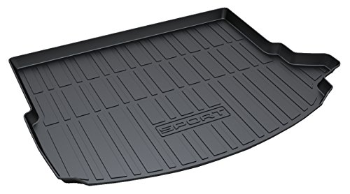 Sport Trunk Mat - Vesul Rubber Rear Trunk Cover Cargo Liner Trunk Tray Floor Mat Carpet Fits on Land Rover Discovery Sport 2015 2016 2017 2018 2019