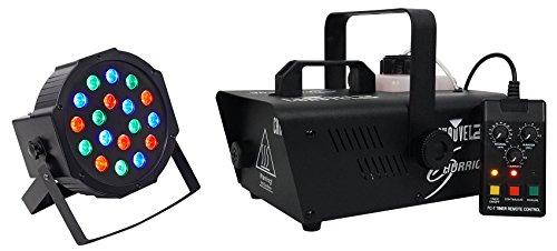 Chauvet DJ H1200 Hurricane 1200 Fog Machine Fogger w/Remote Timer+Free Rockpar -