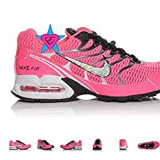 5067b17966 Custom Bedazzled Glitter Crystal Bling | NIKE Air Max Torch 4 | Pink  Running.