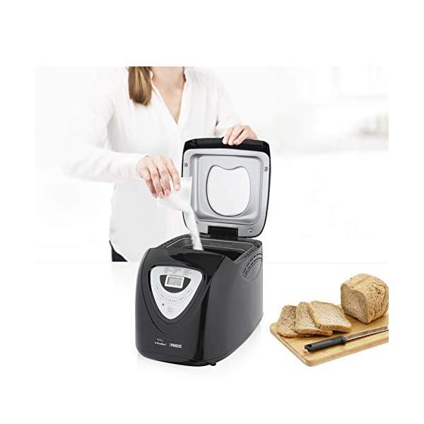 Princess 152009 Macchina per il pane - 600 Watt, Grande capienza 0.9kg, 15 programmi di cottura, Modalità senza glutine… 6