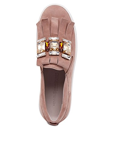 Kennel & Schmenger - Zapatos de cordones de Piel para mujer rosa Rosa