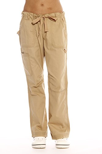 24000PKHA-L Just Love Women's Utility Scrub Pants / Scrubs, Khaki Utility, Large
