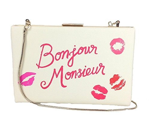 Kate New Cement Square York 'Bonjour Monsieur' Multi Clutch Emanuelle Spade Merrion r5fnvIra
