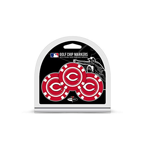 6c50439a9fe Team Golf MLB Cincinnati Reds Golf Chip Ball Markers (3 Count)
