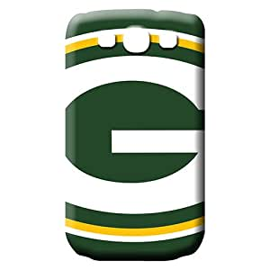 samsung galaxy s3 Strong Protect Back phone Hard Cases With Fashion Design phone cover skin green bay packers