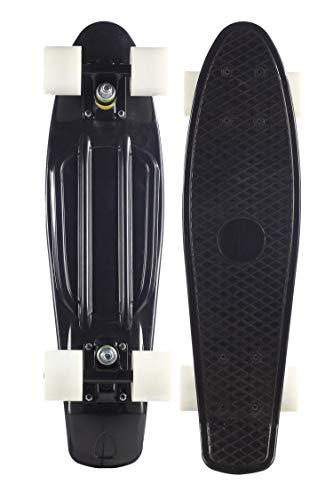 Plastic Retro Complete Skateboard 22'' Cruiser for Kids Yout