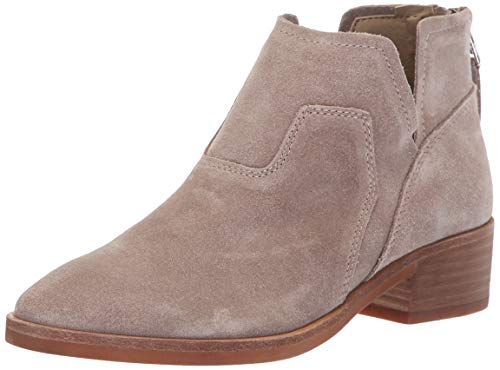 Dolce Vita Women's Titus Ankle Boot, Taupe Suede, 7.5 M US (Dolce Vita Boots)