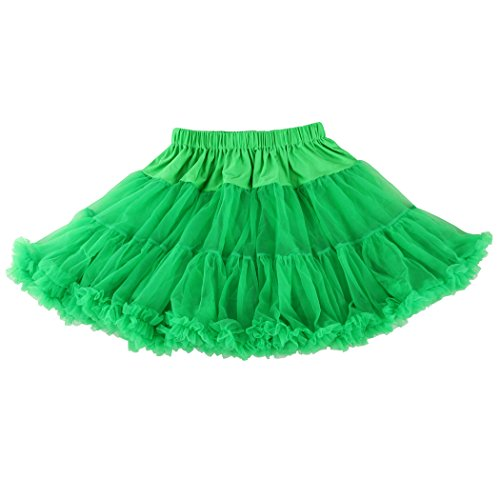 Wennikids Luxury Petticoat Perfect Adult tutu Dance Skirt/Tulle/many colors Green (Dance Costumes From China)