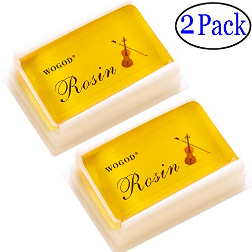 Rosin Violin Rosin Light Low Dust Rosin 2 Pack for