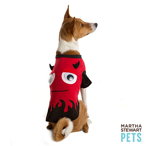 Martha Stewart Pets Pet Halloween Red Devil Pet T-Shirt~X-SMALL~