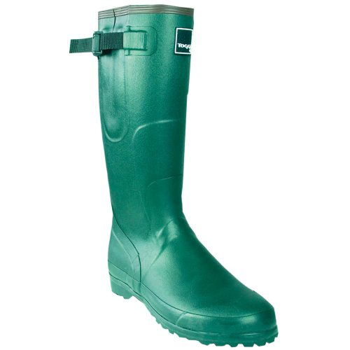 Ladies Lady Green Rubber Wellington Toggi Wanderer qrtq1Aw