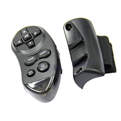 Sizet Universal Steering Wheel IR Remote Control For Car CD DVD TV MP3 Player (Steering Wheel Controls Adapter compare prices)