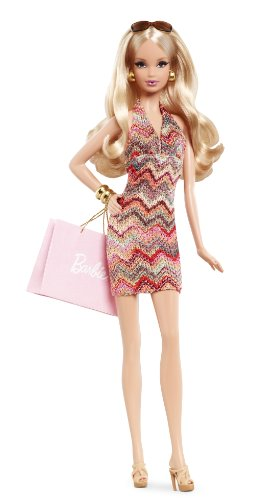Barbie Collector The Barbie Look Collection: City Shopper Doll Girl Shopper