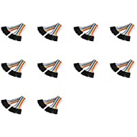 10 x Quantity of Walkera QR X350 PRO FPV (100mm) Super Clean RC Male to Male Ribbon Extensions Set(Servo Connector) - FAST FROM Orlando, Florida USA!
