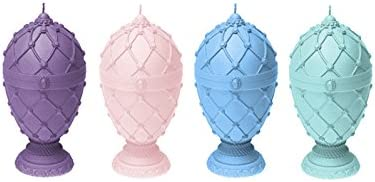 Candellana Candles 5902841369511 Faberge Eggs 4 pcs-Assorted V
