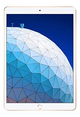 Apple iPad Air 3rd gen Latest Model (10.5-inch, Wi-Fi, 64GB) - Gold (Renewed)