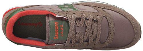 Saucony Jazz Original Herren Sneakers Brown (Light Brown / Green)