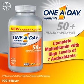 One-A-Day Women's 50+ Advantage Multivitamins, Limited SP...