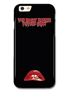 AMAF ? Accessories The Rocky Horror Picture Show Movie Poster Red Biting Lips case for iPhone 6