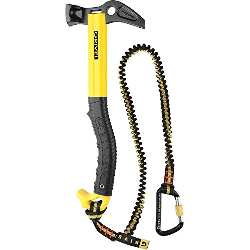 Grivel Forged - GRIVEL Thor Hammer with Leash Black/Yellow One Size