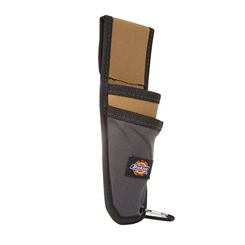 Dickies Work Gear 57010 Grey/Tan Utility Knife Sheath with Cut-Preventive Sheath (Utility Knife Holder)