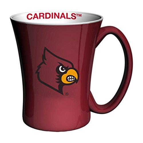 - Boelter Brands NCAA Louisville Cardinals Sculpted Victory Mug, 14-Ounce