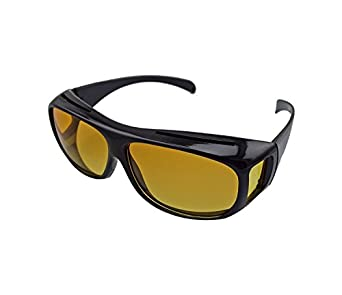 d05c800cf5 Shag Set 2 Day   Night HD Vision Goggles Anti-Glare Polarized Sunglasses  Men Women Driving Glasses Sun Glasses UV Protection car Drivers  Amazon.in   Amazon. ...