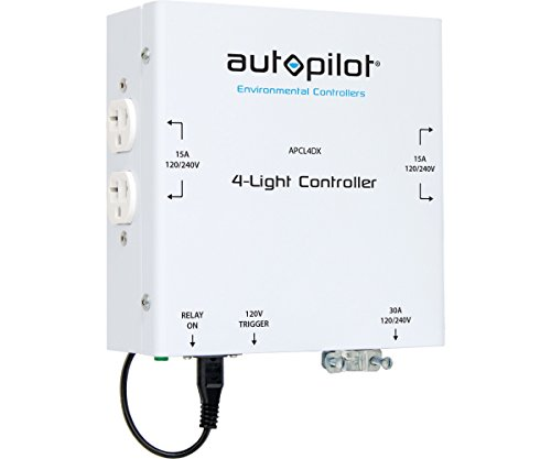 Autopilot 4-Light High Power HID Controller 4000W (120V/240V) 30A 2018 Model ! (Hid High Controller Power)