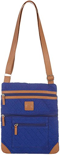 stone-mountain-lockport-quilted-solid-handbag-one-size-blue-tan