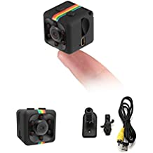CloverTale Mini Spy Camera Night Vision 1080P HD Video Recorder Portable Tiny with Night Vision and Motion Detection Security Camera for Drones, FPV, Home and Office Surveillance