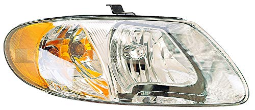 - For 2005 2006 2007 Dodge Grand Caravan/Caravan | Chrysler Town & Country | Voyager Headlight Headlamp Passenger Right Side Replacement CH2503129