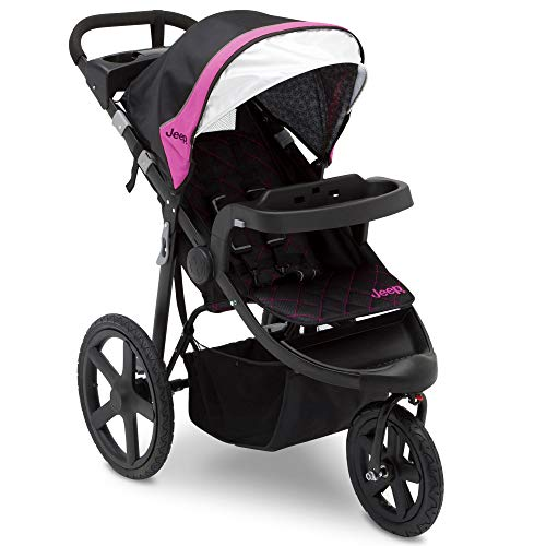 Jeep Patriot Open Trails Jogger, Berry - Jeep Girls For Stroller