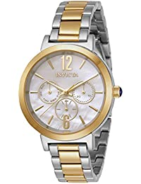 Women's Angel Quartz Watch with Stainless Steel Strap, Two Tone, 15 (Model: 31086)