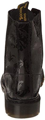 Dr. Martens CASSIDY Skull Print 14735601 - Botas fashion de cuero para mujer Negro (Black Black)