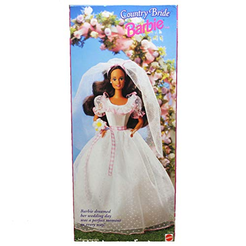 (Barbie Country Bride Doll (Brunette) Wal Mart Special Edition)
