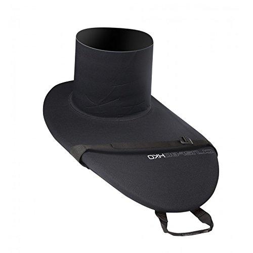 Hiko Spritzdecke CRUST 94 Spritzschutz Kajak Zubehör Paddel Ausrüstung, Größe:XS 65 cm Taillenumfang;Farbe:Schwarz