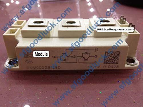 Kammas SKM200GB128D Transistor SPT IGBT Module N-CH 1200V 220A 7-Pin Case D-56 Weight:325g ()