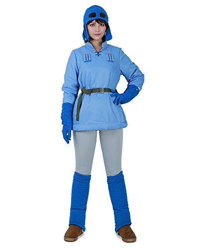 Leading Ladies Costumes (miccostumes Womens Nausicaä Cosplay Costume (WL))