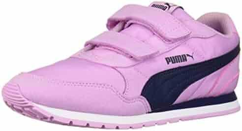 PUMA Kids' ST Runner NL Velcro Sneaker